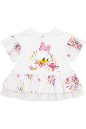 MONNALISA X Disney® Baby Top aus Baumwolle