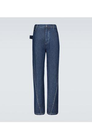 Bottega Veneta Wide Jeans mit Waschung