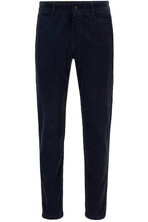 HUGO BOSS Tapered-Fit Cord-Hose aus Stretch-Baumwolle