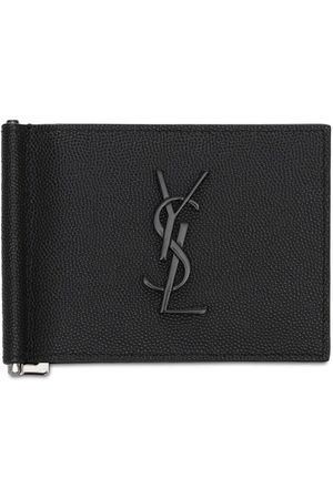 Saint Laurent Brieftasche Aus Leder