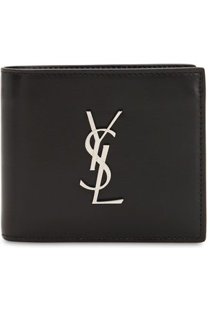 "Saint Laurent Brieftasche Aus Leder Mit Logo ""east/west"""
