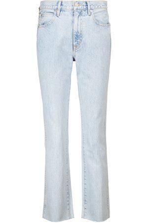 SLVRLAKE High-Rise Straight Jeans Hero