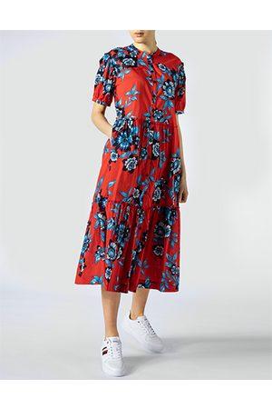Tommy Hilfiger Damen Lange Kleider - Damen Kleid WW0WW30337/0KV