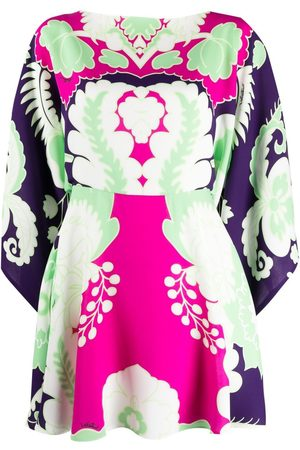 VALENTINO World Arazzo-print mini dress