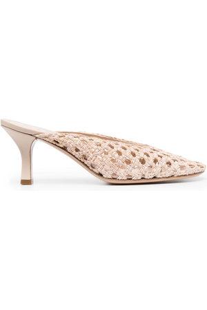 Casadei Damen Sneakers - Woven slip-on pumps