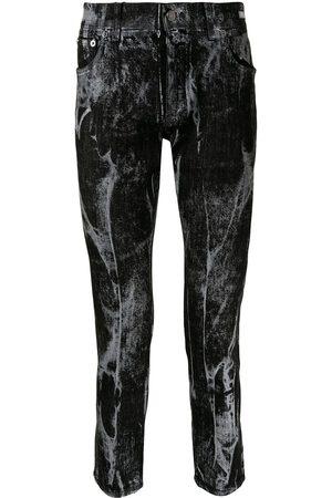 Dolce & Gabbana Marbled skinny jeans