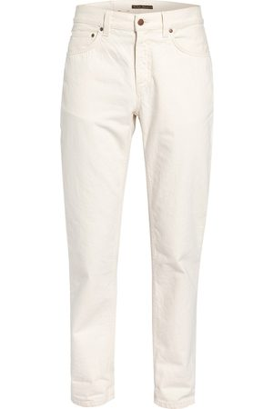 Nudie Jeans Jeans Gritty Jackson Regular Fit weiss