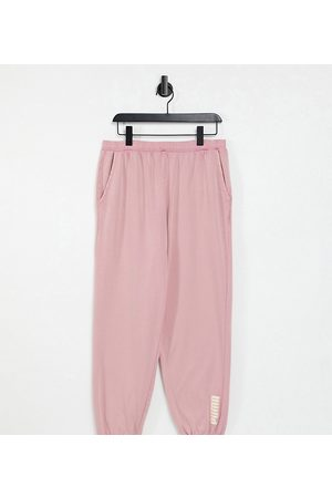 PUMA Oversized joggers in washed pink - exclusive to ASOS