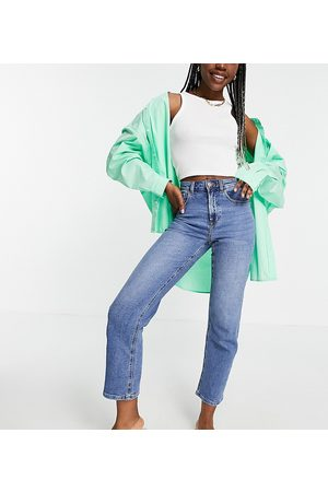 ONLY Megan kick flare jeans with extra high waist in light blue