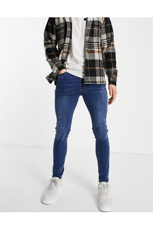 New Look Super skinny jeans in mid blue