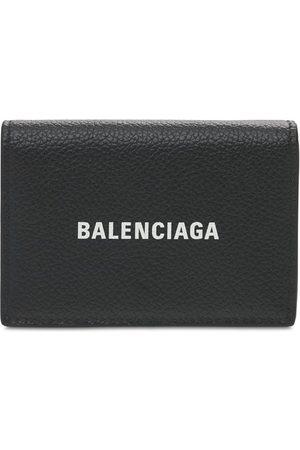Balenciaga Lederbrieftasche Mit Logodruck