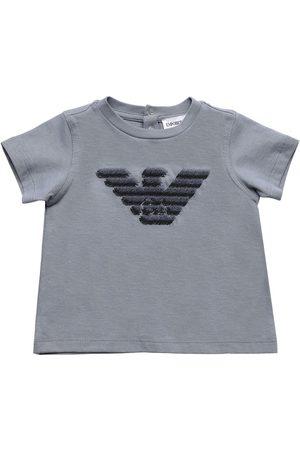Emporio Armani Damen Shirts - T-shirt Aus Baumwolljersey