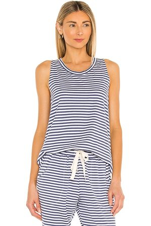 Eberjey Damen Tanktops - Quincy Tank in - Blue. Size L (also in XS, S, M).
