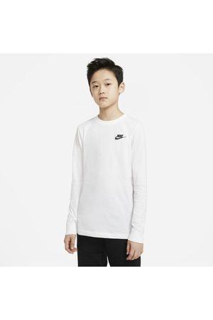 Nike Jungen Lange Ärmel - Sportswear Langarm-T-Shirt für ältere Kinder (Jungen)