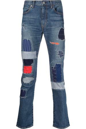JUNYA WATANABE Patchwork slim-fit jeans