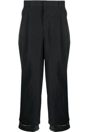 JUUN.J Herren Weite Hosen - Layered-ankle trousers