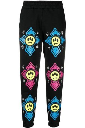 BARROW Graphic-print mid-rise track pants