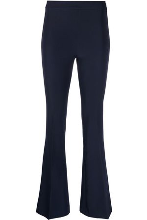 BLANCA High-waisted flared trousers