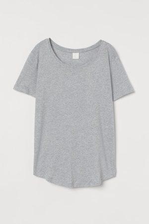 H&M Damen Shirts - T-Shirt aus Modalmix