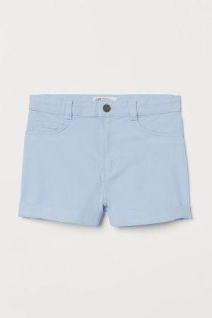 H&M Kinder Shorts - Shorts aus Baumwolltwill