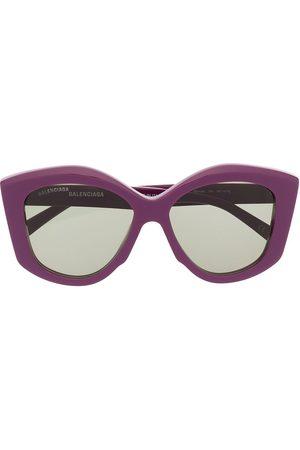Balenciaga Damen Sonnenbrillen - Power butterfly-frame sunglasses