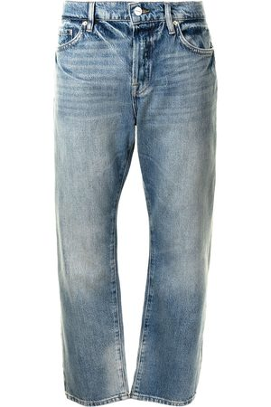 Frame Damen Straight - Le Pixie Slouch high-waist jeans
