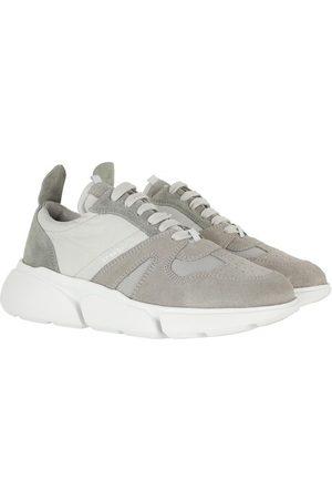 Copenhagen Shoes Damen Sneakers - Turnschuhe Sneakers Material Mix - in hellgrau - für Damen