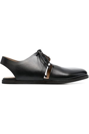 MARSÈLL Open-back lace-up shoes
