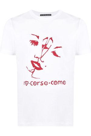 10 CORSO COMO Graphic print short-sleeved T-shirt