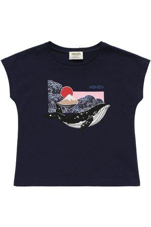 Kenzo T-shirt Aus Bio-baumwolle Mit Druck