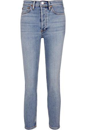 RE/DONE Damen Slim - High-Rise Slim Jeans