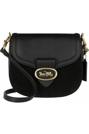 Coach Crossbody Bags Mixed Leather Kat Saddle Bag 20 - in - Umhängetasche für Damen