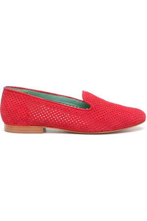 Blue Bird Damen Halbschuhe - Perforated design loafers
