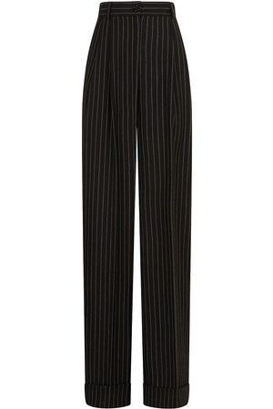 Dolce & Gabbana Pinstripe straight-leg trousers
