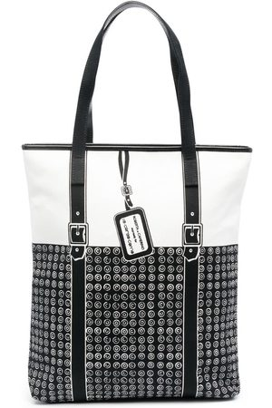 10 CORSO COMO Geometric-print panelled shoulder bag