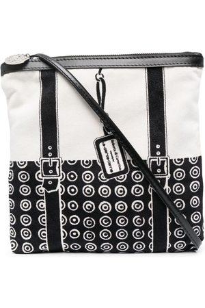 10 CORSO COMO Damen Umhängetaschen - Geometric-print panelled crossbody bag