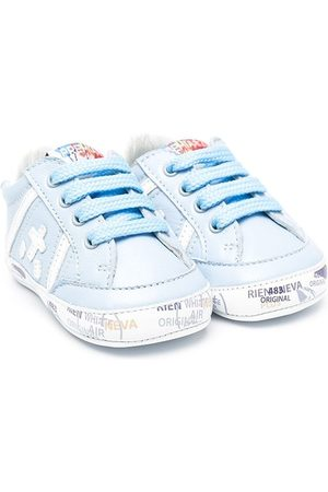 Premiata Jungen Schnürschuhe - Logo-patch lace-up sneakers