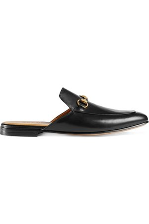 Gucci Herren Halbschuhe - Leather Horsebit slippers