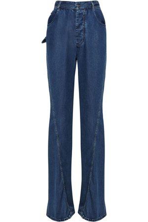 Bottega Veneta Damen Straight - Jeans Aus Baumwolldenim Mit Gerade Bein