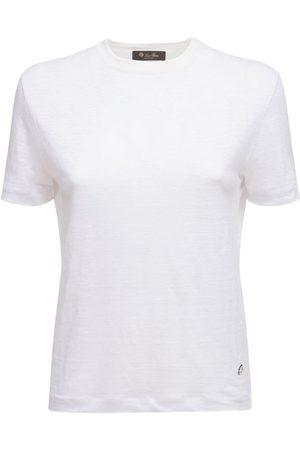 Loro Piana T-shirt Aus Leinenjersey
