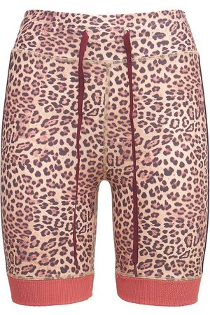 THE UPSIDE Shorts Mit Leopardendruck