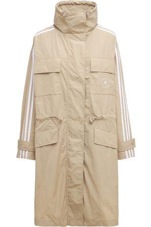 Stella McCartney Oversized Trenchcoat Aus Baumwolle Und Technostoff