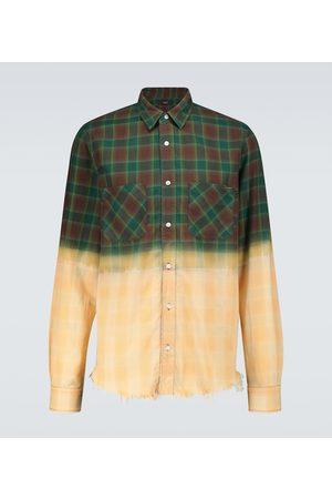 AMIRI Kariertes Hemd aus Baumwollflanell