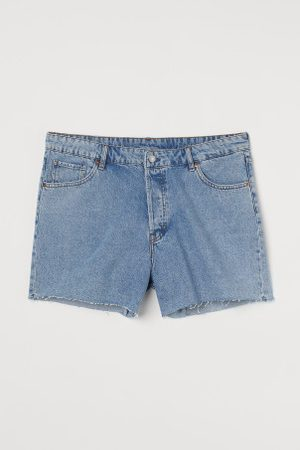 H&M + Vintage High Jeansshorts