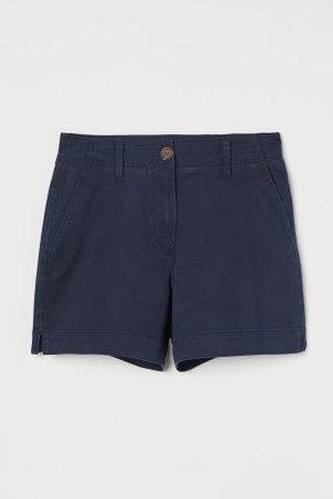 H&M Shorts aus Baumwolltwill