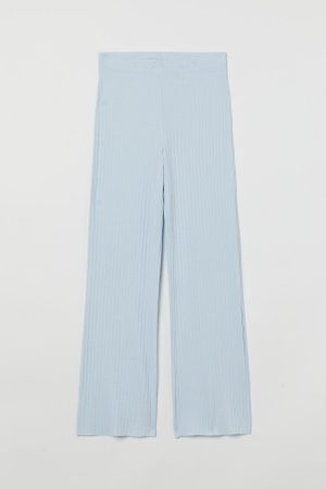 H&M Gerippte Jerseyhose