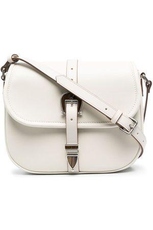 Golden Goose Buckled leather shoulder bag