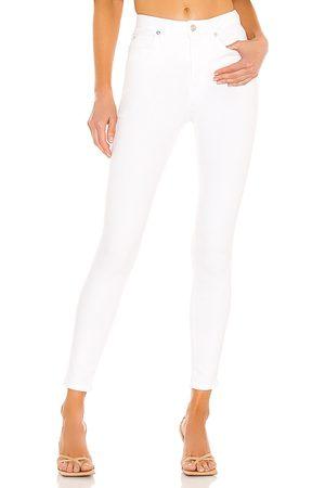 Free People Damen Montana Skinny in - White. Size 24 (also in 31, 32, 25, 26, 27, 28, 29, 30).