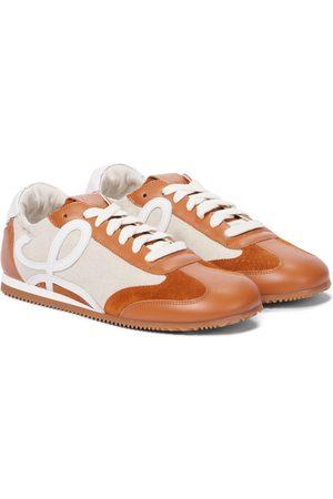 Loewe Sneakers Ballet Runner mit Leder