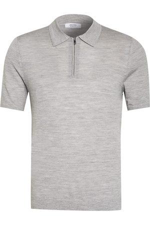 Reiss Jersey-Poloshirt Maxwell grau